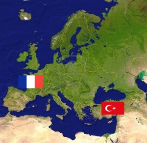 Europe France Turquie