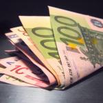 Liasse billets euros