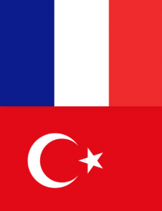 Comment apprendre le turc facilement - Drapeaux France Turquie