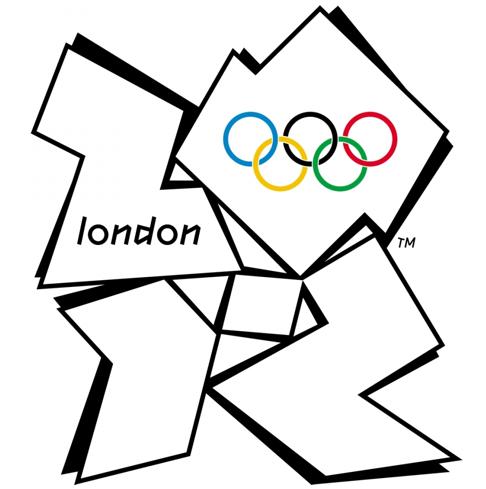 Logo JO d'été 2012 sans couleurs