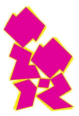 Logo des Olympiades de Londres 2012 détourné