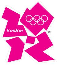 Logo officiel des JO 2012 de Londres