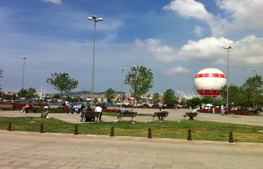 Turkish ballon, Kadiköy