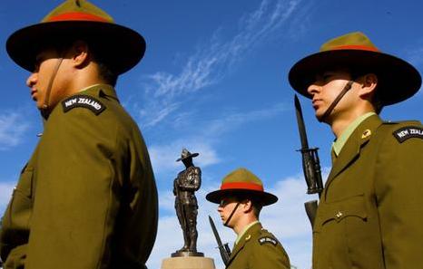 Hommage soldat Néo-Zélandais Sydney Anzac Bridge