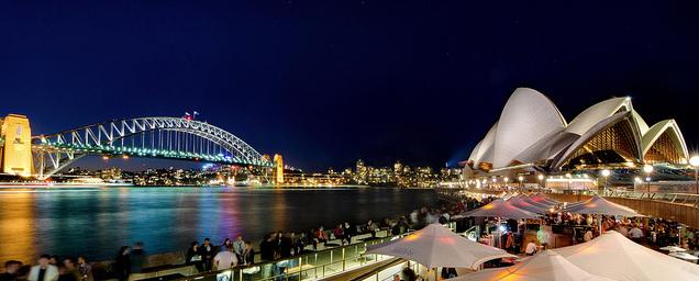 Sydney Harbour Bridge - Sydney Opera House Australia