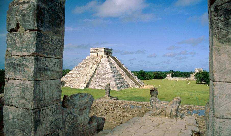 Chichen-Itza, ancienne ville Maya - Mexique