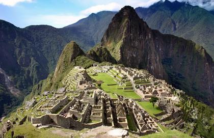 Le Machu Pichu des Incas au Pérou
