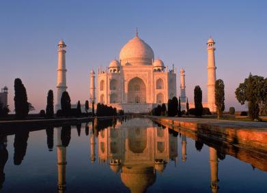 Le Taj Mahal en Inde