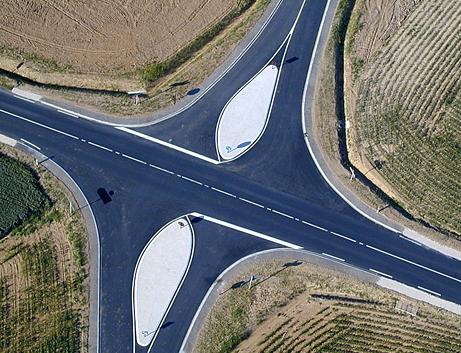 Route croisement