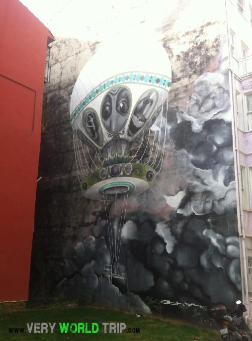 Street Art Istanbul - Turquie 01
