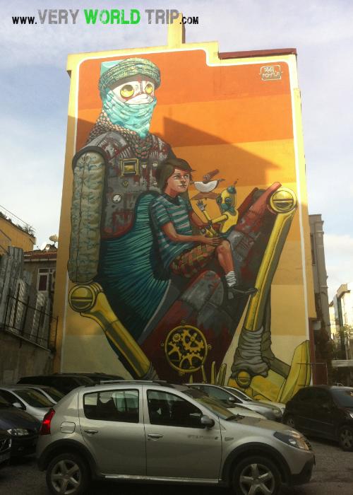 Street Art Istanbul - Turquie 02