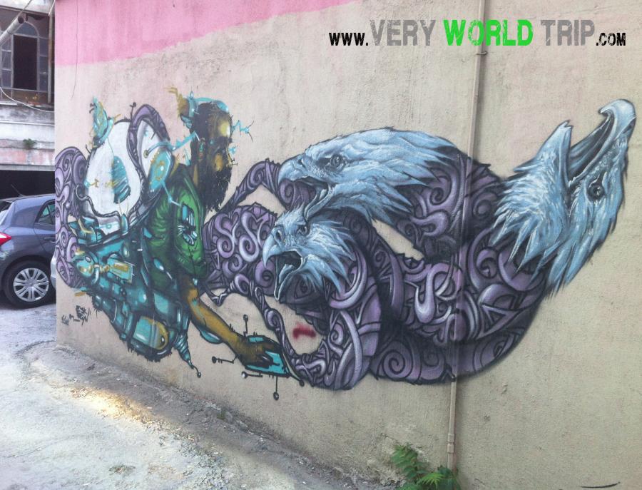 Street Art Istanbul - Turquie 04