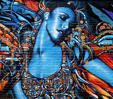 Femme graffiti