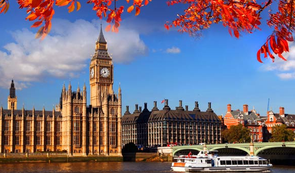Londres en automne - big ben
