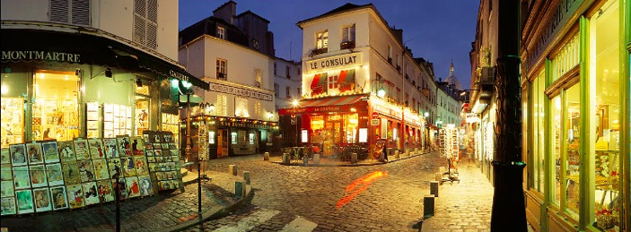 Passage à Paris - Montmartre