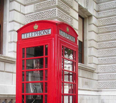 cabine telephone londres london