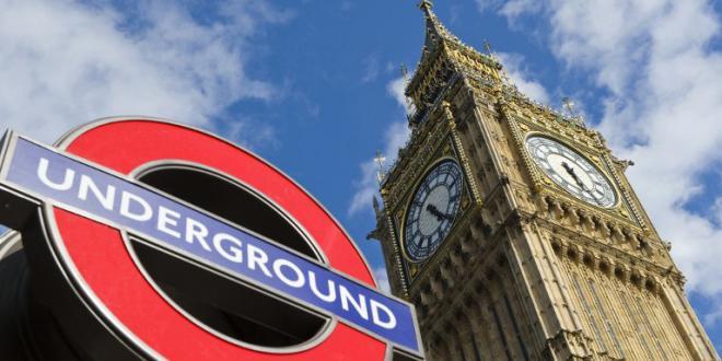 Logo Underground du métro londonien