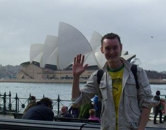 Very World Trip - Jeremy en australie - sydney opera house