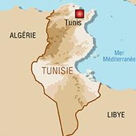 Carte Tunisie - Tunisia Map
