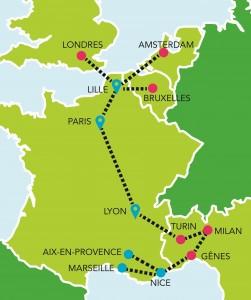 iDbus-destinations