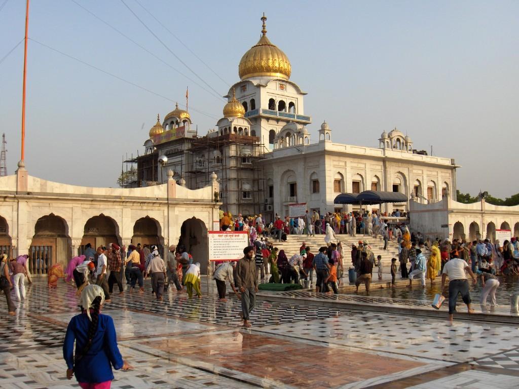 Mosquée New Delhi Inde