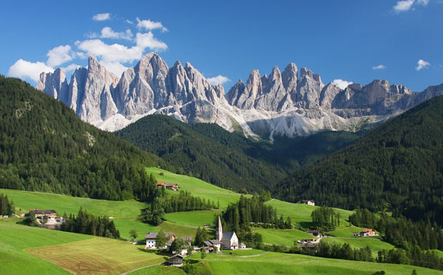 Dolomites - Alpes italiennes (destinations skier hiver montagne)