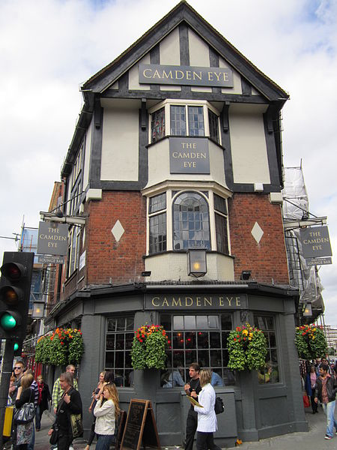 Un pub à Camden