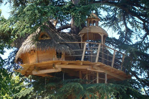 cabane perchée vacances originales
