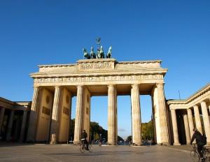 La porte de Brandebourg (Berlin, Allemagne)