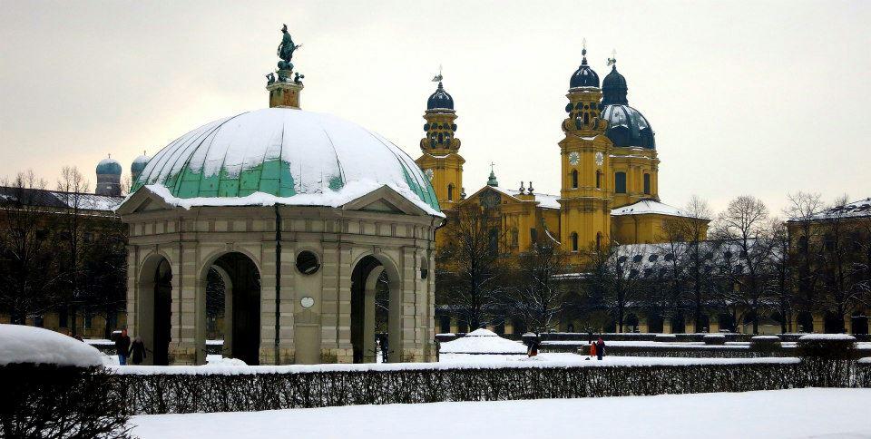 Munich sous la neige