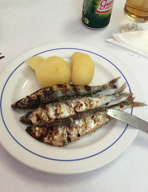 Sardines portugal lisbonne
