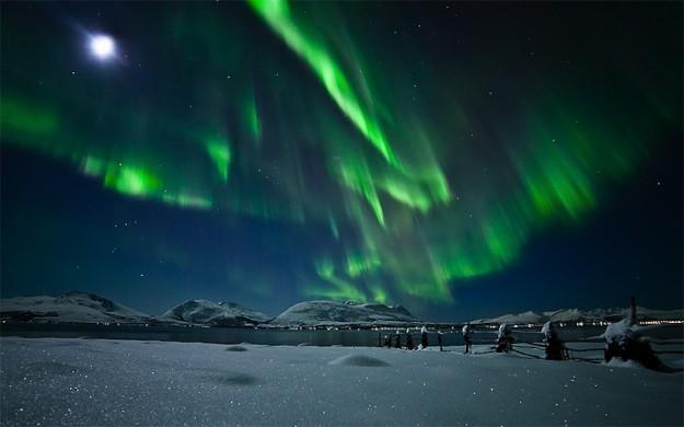 visiter islande - aurores boreales