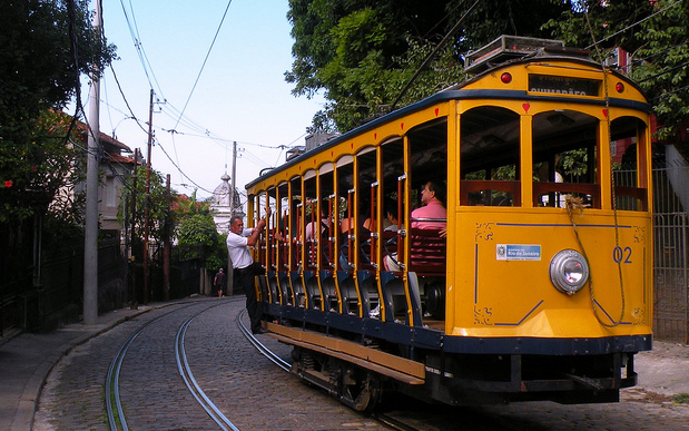 Le Bondinho - Tramway jaune a rio - bresil