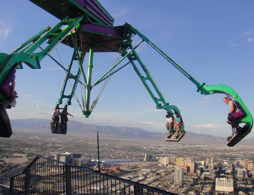 Insanity Ride - Stratosphere tower - Las Vegas