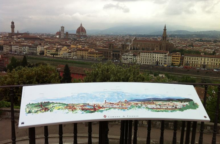 Panorama de la ville de Florence
