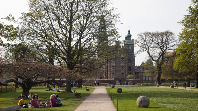 Kongens Have - Danemark Copenhague