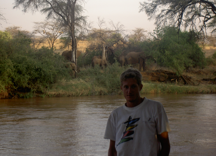julien legrand kenya elephant