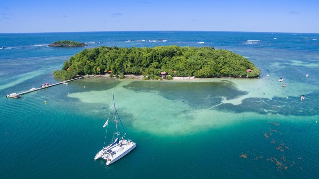Martinique catamaran