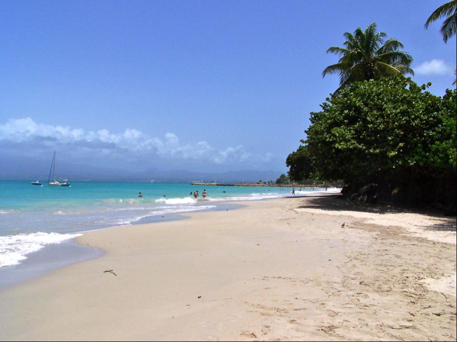 Plage de la Datcha Guadeloupe